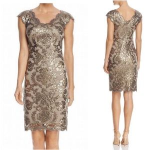 Tadashi Shoji Sequin Formal Cocktail Party Dress 4